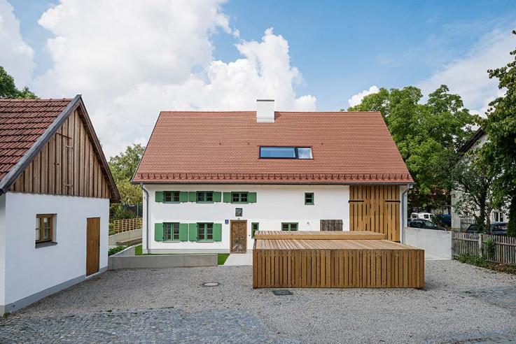 peter . haimerl Architektur Häuser des Jahres 2016 Aussenansicht