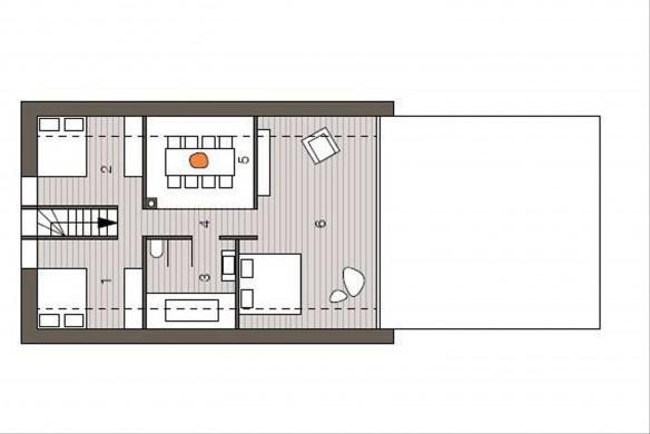 Bub Einfamilienhaus Grundrissatlas Grundriss Dachgeschoss