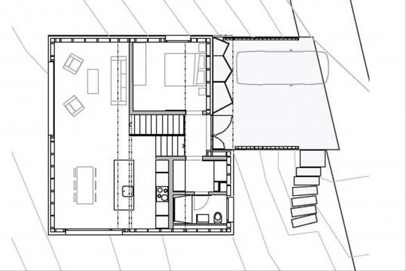 Bunq Einfamilienhaus Grundrissatlas Grundriss Erdgeschoss