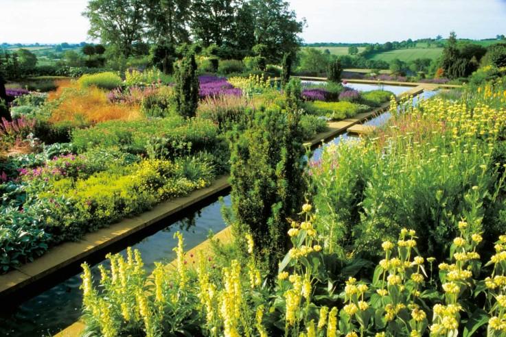 Terrassengarten Broughton Grange