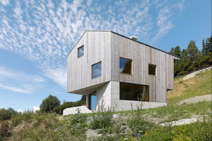 savioz fabrizzi architectes Häuser des Jahres 2016 Aussenansicht