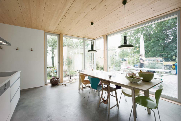werk A architetkur sicher Häuser des Jahres 2016 Innen Esszimmer