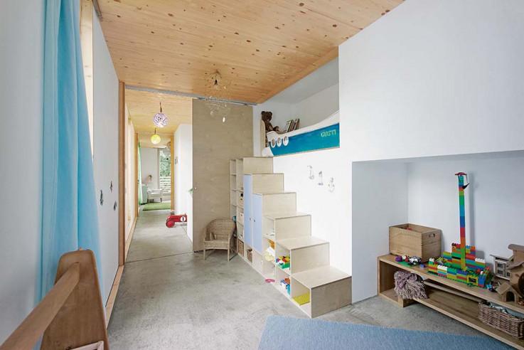 werk A architetkur sicher Häuser des Jahres 2016 Innen Kinderzimmer