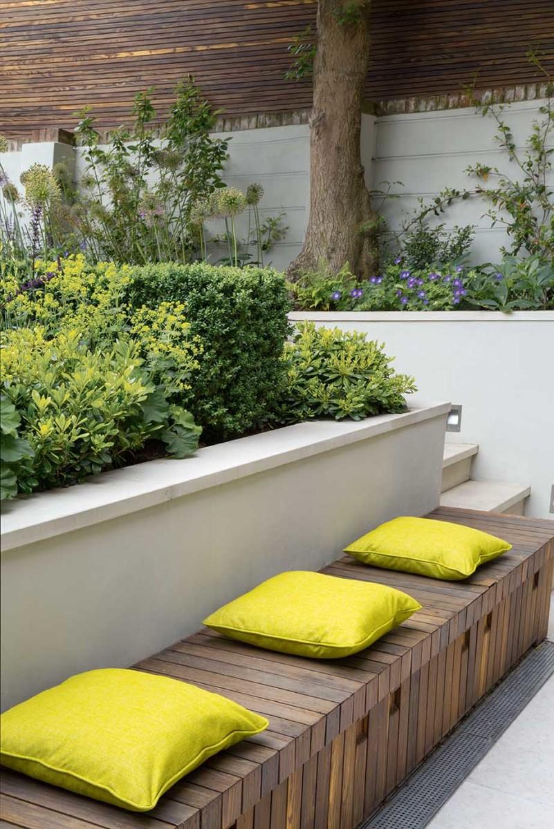 Gartengestaltung mit hochbeet for Gartengestaltung unterschiedliche hohen