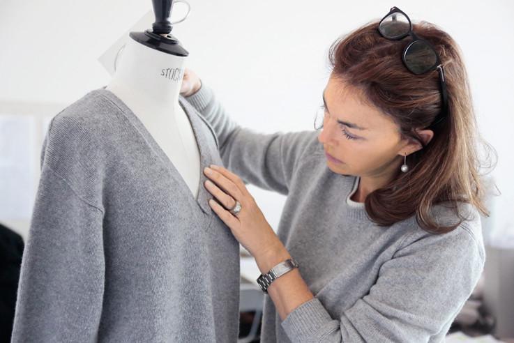 Modedesignerin Andrea Karg