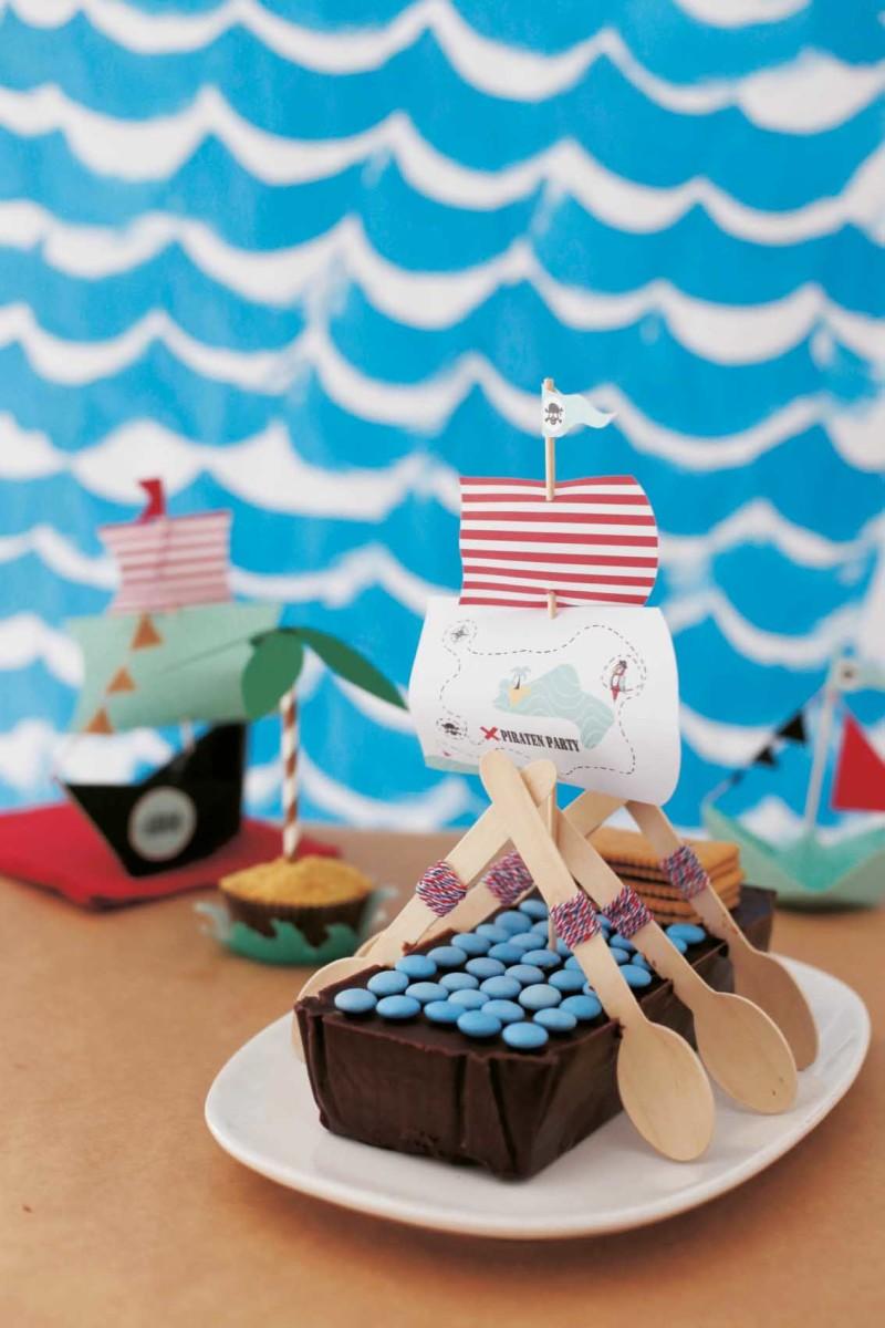 Schiff Ahoi Piratenparty Kindergeburtstag
