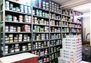 Callwey Verlag Druckerei Farben Regal