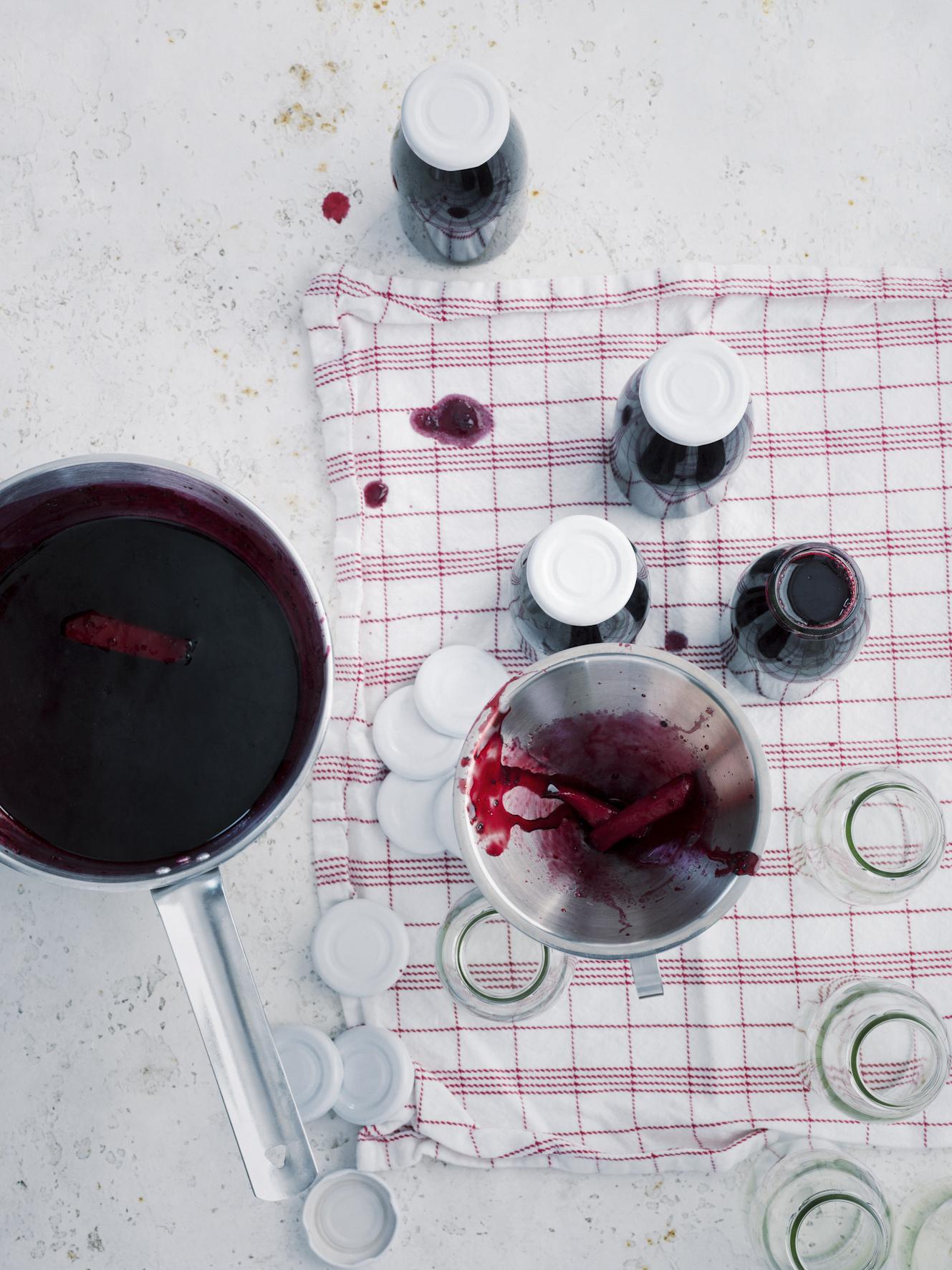 Kühle Erfrischung | Schwarzer Johannisbeer Sirup Rezept | Callwey Blog