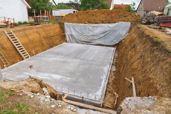 Wir planen und bauen unser Haus Ratgeber Hausbau Baugrube