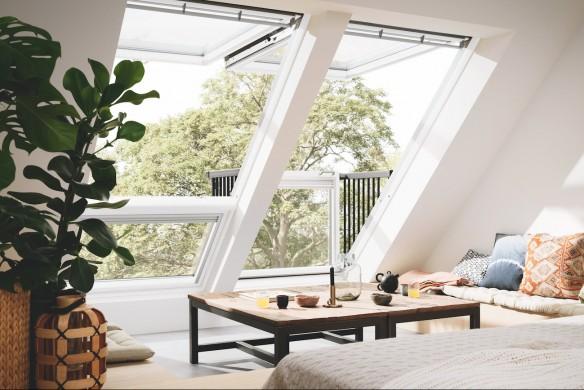 Wir planen und bauen unser Haus Ratgeber Hausbau Wandfarbe Velux Cabrio Fenster