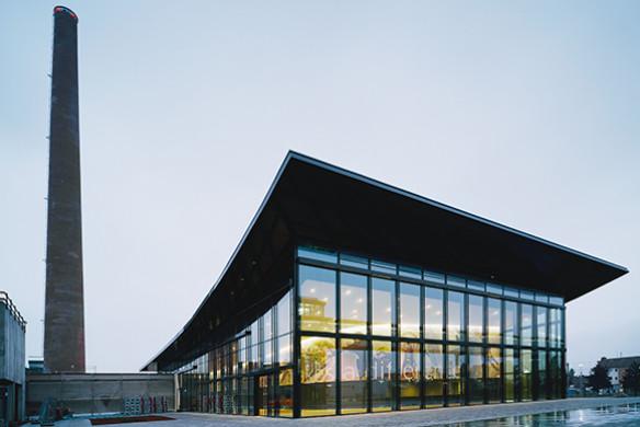 Ausgezeichneter Stahlbau 2016 Firmenzentrale Käscher Sinnenden Auditorium
