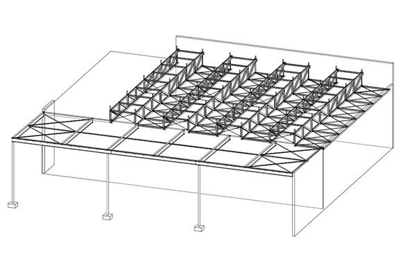 Ausgezeichneter Stahlbau 2016 Firmenzentrale Kärcher Sinnenden  Isometrie Präsentationsraum