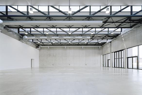 Ausgezeichneter Stahlbau 2016 Firmenzentrale Käscher Sinnenden Präsentationsraum