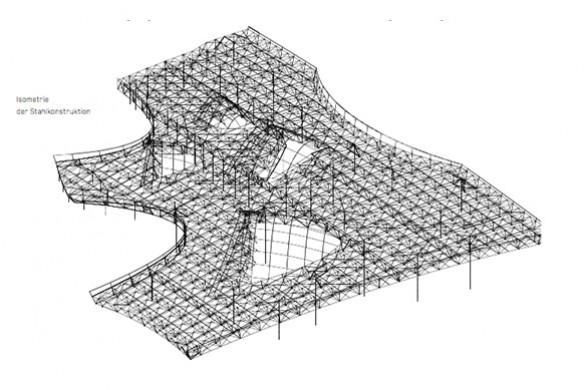 Ausgezeichneter Stahlbau 2016 Aquamotion Courchevel Dachkonstruktion