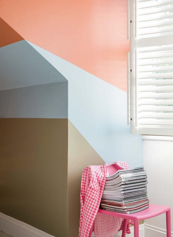 Farrow & Ball Stilvoll wohnen mit Farbe Red Earth Dachschräge