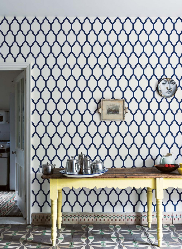 Farrow & Ball Stilvoll wohnen mit Farbe Tassella Tapete