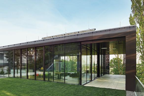 Häuser des Jahres 2016 Glasfassade Aussenansicht