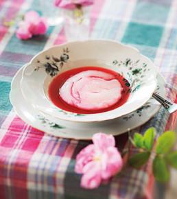 Rosen-Dessert Küche Zyperns