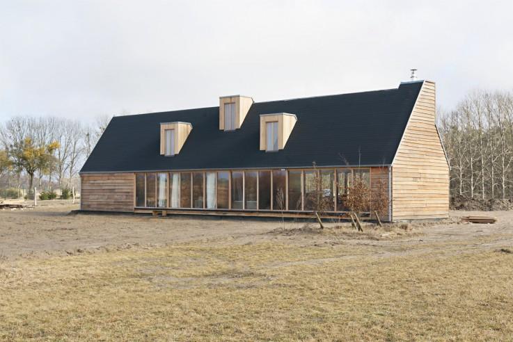 Thomas Kröger Architekten Ferienhaus Wohnscheune Aussen