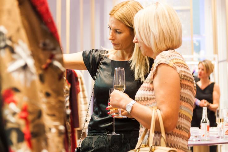 Fashion at Home Wohnbuch Book Launch Kunden Boutique Luxus