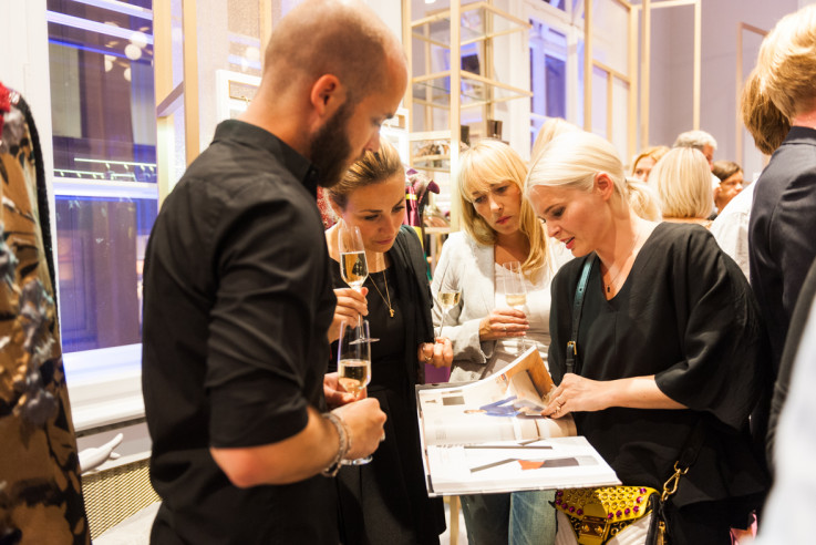 Fashion at Home Wohnbuch Book Launch Kunden Party Release