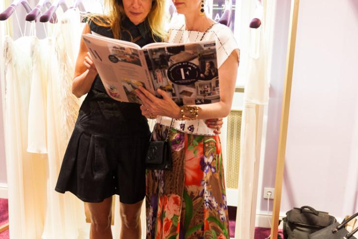 Fashion at Home Wohnbuch Book Launch Prinzessin von Hohenlohe zu Hengstberg