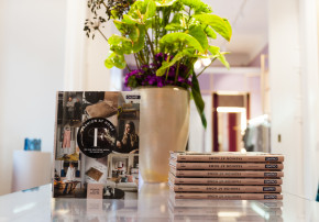 Fashion at home Wohnbuch Book Launch Talbot Runhof