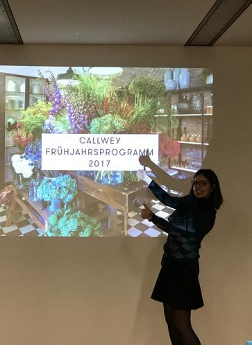 Callwey Vertretertagung Frühjahrsprogramm 2017