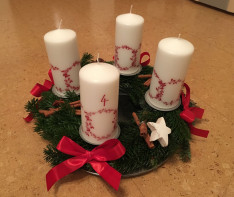 kreative Adventszeit Adventskranz Selbermachen