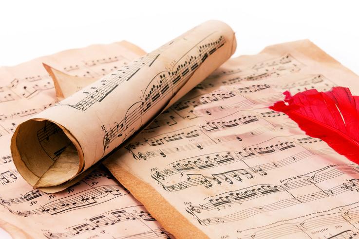 Musikalische Weihnachtsdekoration