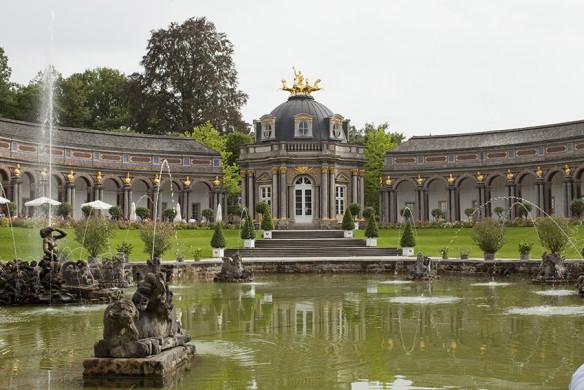 Romantische Gartenreisen in Deutschland Schlossgarten Eremitage Bayreuth