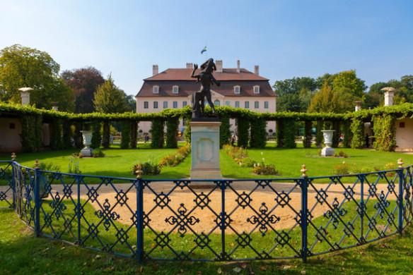 Romantische Gartenreisen in Deutschland Fürst-Pückler-Park Branitz