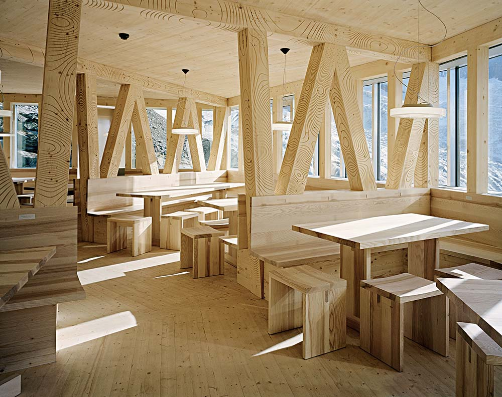 alpine architektur in der schweiz architekturf hrer schweiz On architektur innenraum