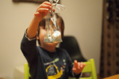 Kindergeburtstag Winterwunderland Feiern mit Kindern Schneemann DIY