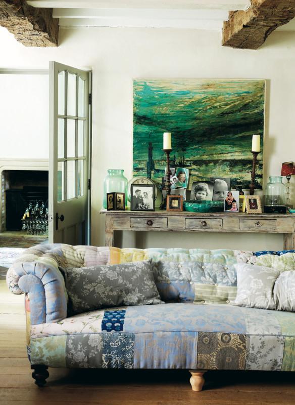 Callwey Wohnbuch einrichten Sofa Textilien