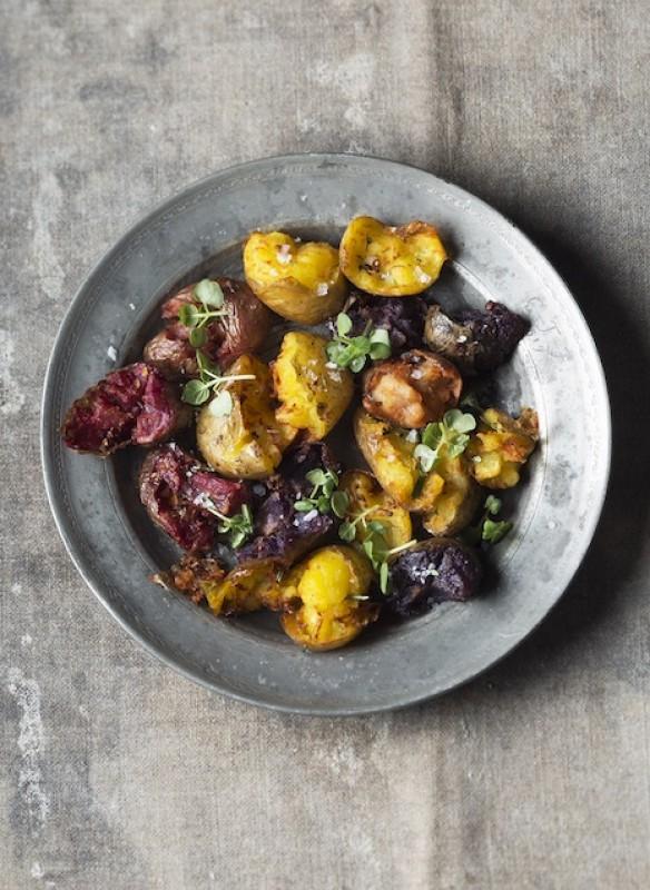 Easy Peasy vegan Kochbuch Tetsu Kartoffeln fertiges Gericht