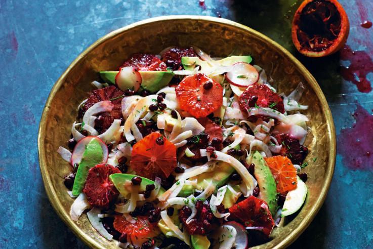 Marrokanischer Fenchel-Blutorangen-Salat   Rezept   Zu Gast in Marokko   Rob und Sophia Palmer   Callwey