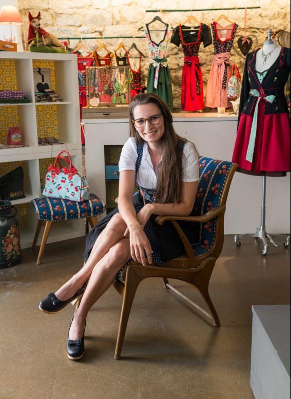 Shop Girls Callwey Wohnbuch Dirndl Laden Gründung