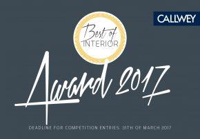 Best of Interior 2017 Einreichung Callwey wohnen einrichten