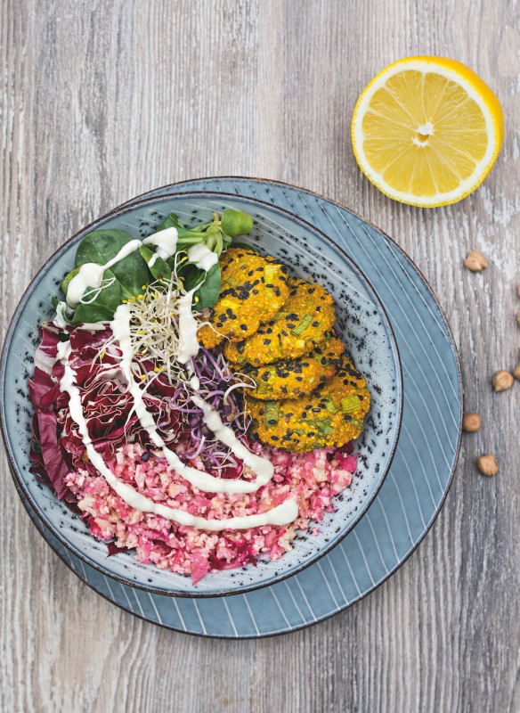Buddha Bowls Callwey Kochbuch Falafel Salat