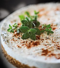pikanter Käsekuchen Küche Zyperns