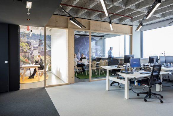 Space for Creative Thinking neue Lern- und Arbeitswelten Bookingcom Salzburg Besprechung