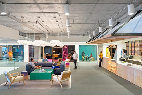 Space for Creative Thinking neue Lern- und Arbeitswelten Cisco Meraki San Francisco