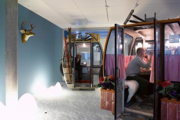 Space for Creative Thinking neue Lern- und Arbeitswelten Google Zürich Gondeln