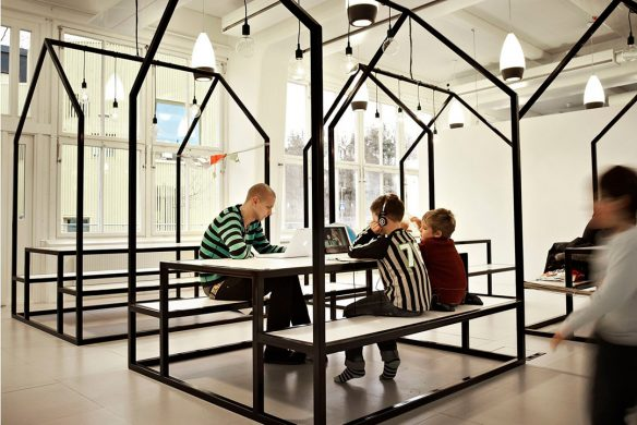 Space for Creative Thinking neue Lern- und Arbeitswelten Vittra Telefonplan School Stockholm