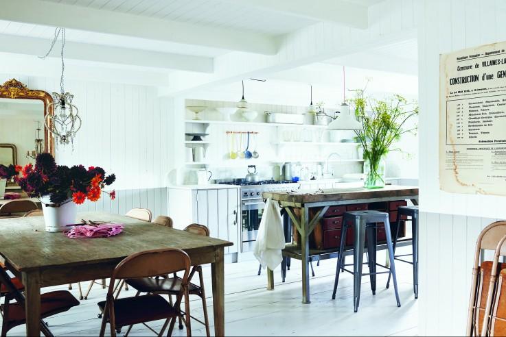 Callwey Wohnbuch große Küche Kücheninsel Familie