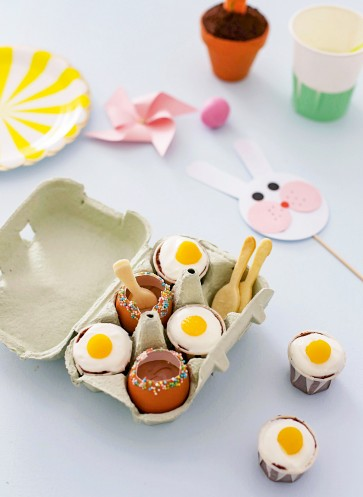 fräulein klein ostern eier im karton