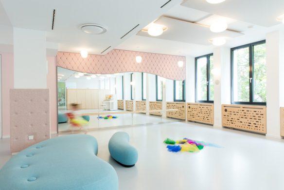 Handbuch Innenarchitektur Kandorra Meyer Architekten Kinderklub Westend