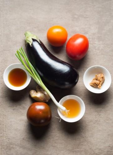 Japanische Aubergine schnelles Rezept Easy Peasy