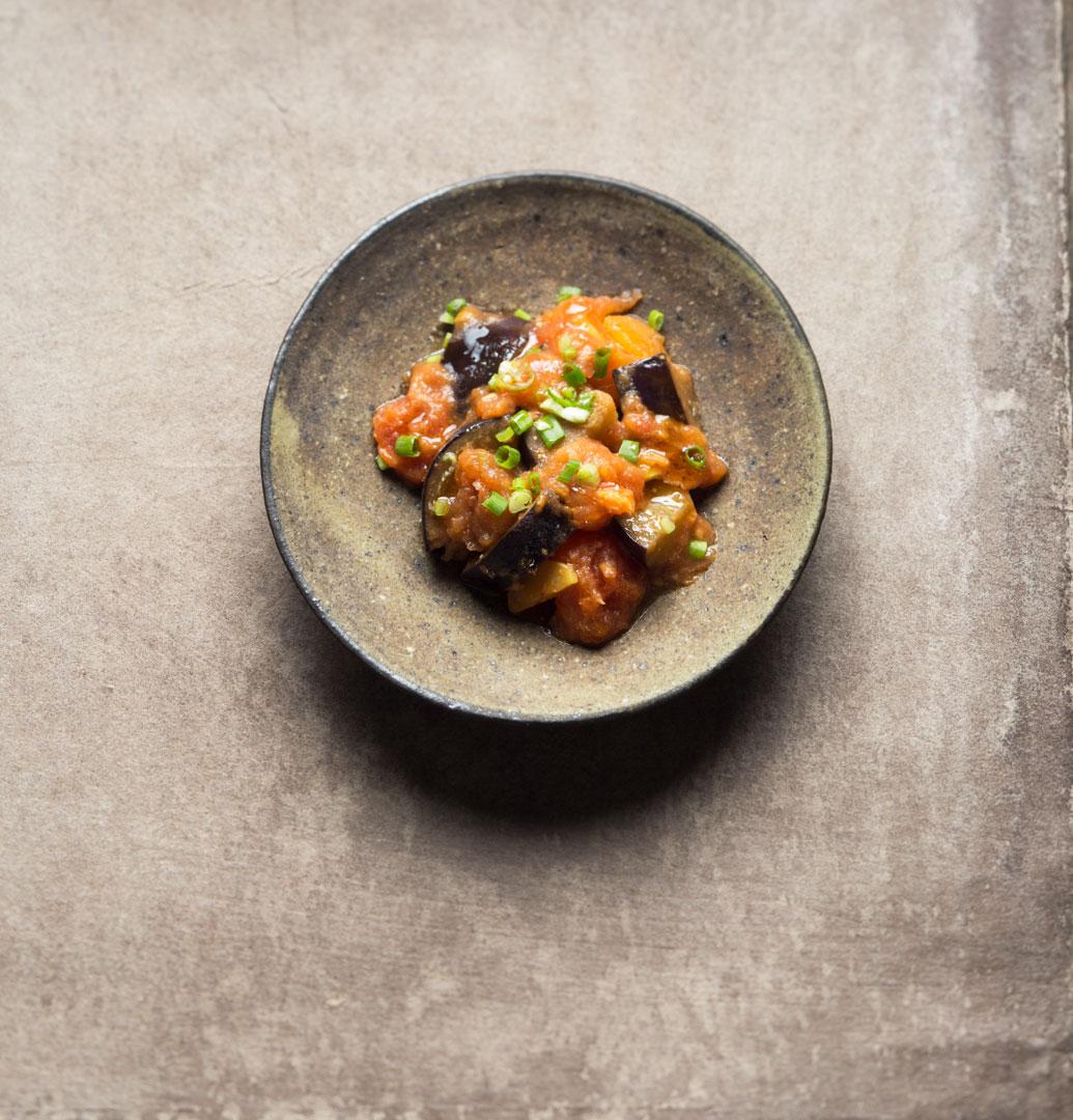 japanische aubergine easy peasy rezept einfach vegan kochen. Black Bedroom Furniture Sets. Home Design Ideas